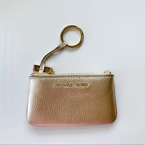 Michael Kors Coin Pouch Keychain